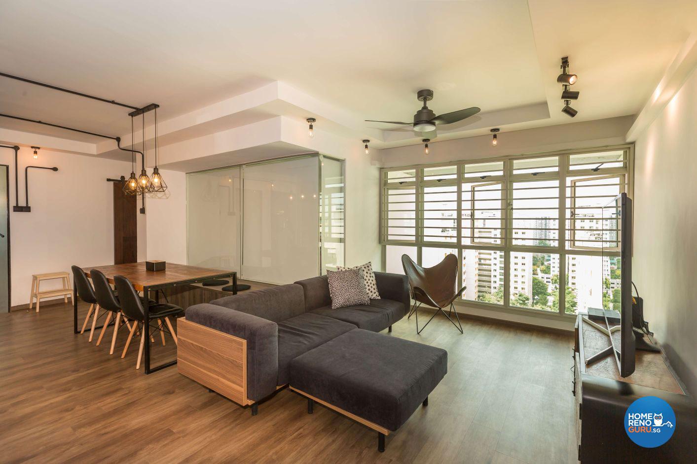 Design for 5 room flat